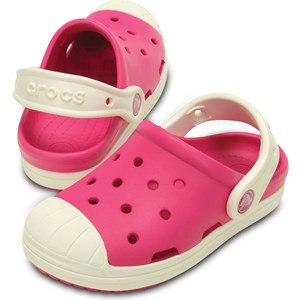 Image of Crocs Bump It Clog Candy Pink/Oyster 33-34 EU (2831876637)