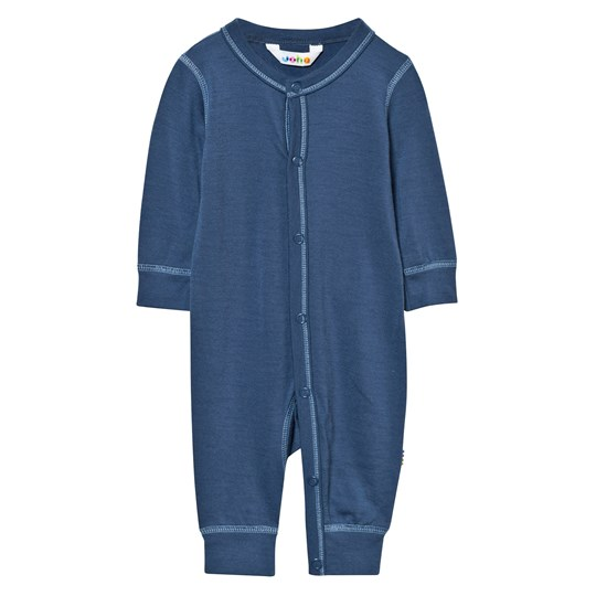 Joha Baby One-Piece Solid Blue Solid Blue