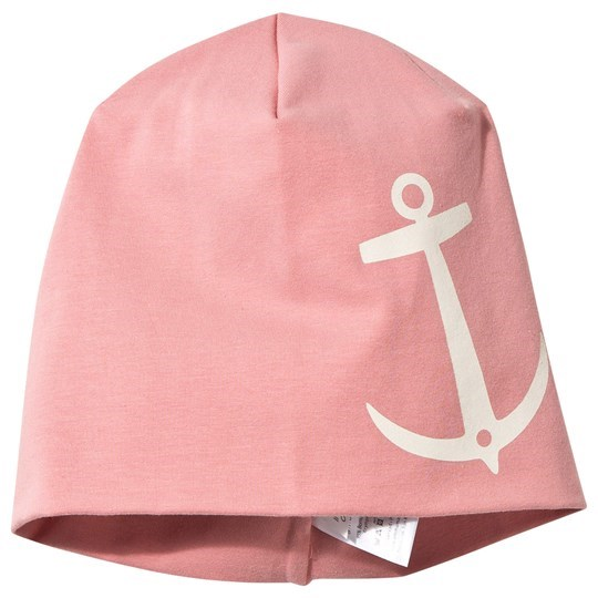 Emma och Malena Hat Old Pink Anchor Print Old Pink
