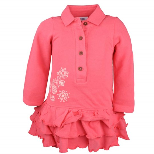 Mexx Baby Girls Dress Red Polo Red
