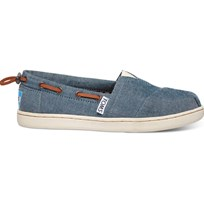 Toms Canvasskor, Young, Chambray Blue