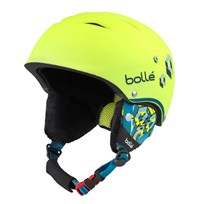Bollé B-Free Ski Helmet Soft Neon Yellow Soft Neon Yellow