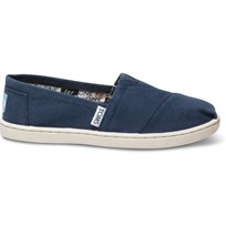 Toms Canvasskor, Young, Navy