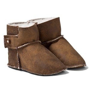Image of Shepherd Borås Slippers Antique/Creme 22-23 (3125346617)