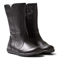 Primigi Black Adella Tall Leather Boots NERO