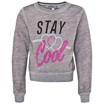 Wildfox Pink Heather Stay Cool Burnout Sweatshirt Rosy Cheeks