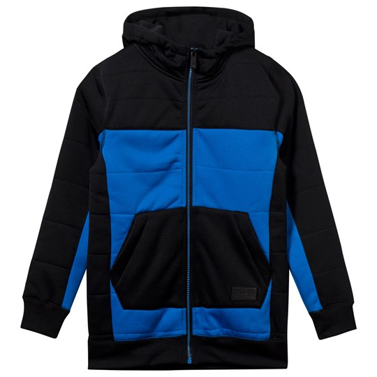 Volcom Blue and Black Fleece Baselayer CYB