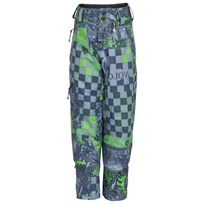 Volcom Patterned Quest Ski Trousers Green,Grey