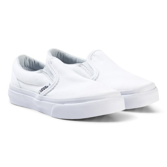 Vans Classic Slip-On Shoes True White White