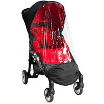 Baby Jogger City Mini Zip Barnvagn Regnskydd Black