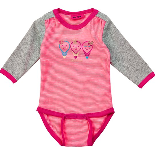 Me Too Henni Body LS Knockout Pink Knockout Pink
