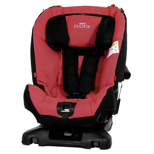 Axkid Axkid Duofix ISOfix 9-25 kg Red Red