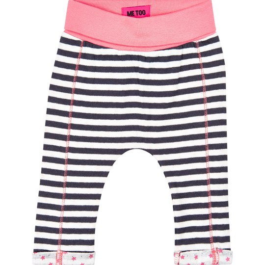 Me Too Black, White and Pink True Pants Pink