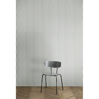 ferm LIVING Arch Wallpaper - Grey Black
