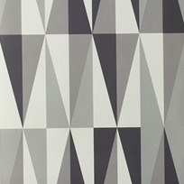 ferm LIVING Spear Wallpaper - Grey Black