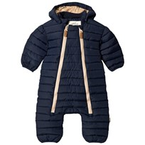 ebbe Kids Tambo Quilted Coverall Deep Lake Blue Deep lake blue