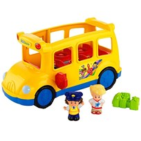 Fisher Price Little People, Aktivitetsleksak, Skolbuss пестрый