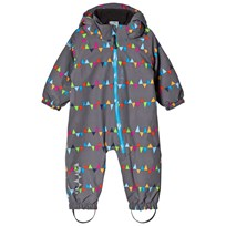 Isbjörn Of Sweden Toddler Padded Jumpsuit Grey Musta