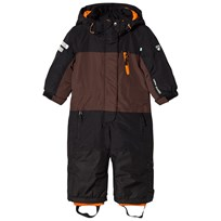 Lindberg Davos Snowsuit Brown/Black BROWN