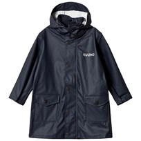 Kuling Raincoat Navy Marinblå