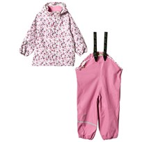 Celavi Printed Rain Set Chateau Rose Pink