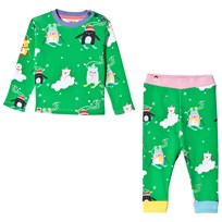 Tootsa MacGinty Noodoll Christmas Pyjamas Apple Green Apple Green