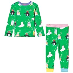 Tootsa MacGinty Noodoll Christmas Pyjamas Apple Green