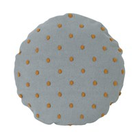 ferm LIVING Popcorn Round Cushion - Dusty Mint Dusty Mint