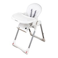 Carena Gillöga High Chair White Multi