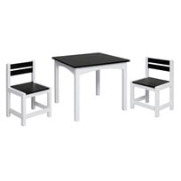 JOX Jox Furniture Blackboard Table and Chairs Multi