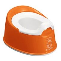 Babybjörn Smart Potta Orange/Vit Orange/Vit