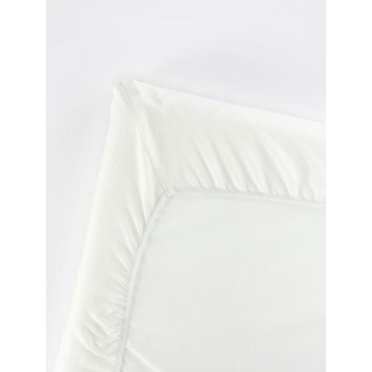 Babybjörn 105x60 Fitted Sheet for Travel Cot Light White