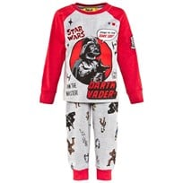 Fabric Flavours Grey And Red Darth Vader Pyjamas Grey & Red
