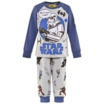 Fabric Flavours Grey And Blue Stormtrooper Pyjamas Grey & Blue