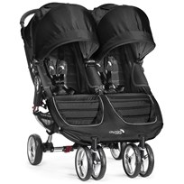 Baby Jogger Sittvagn, City Mini Double, Black/Grey Multi