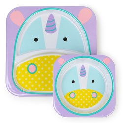 Skip Hop Zoo Melamine Set Unicorn