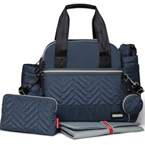 Skip Hop Skötväska, Suite Satchel, Steel Grey Blue