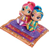 Fisher Price Shimmer and Shine, Magic Flying Carpet Multi