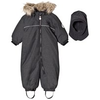 Hummel Play Snowsuit Grey Black