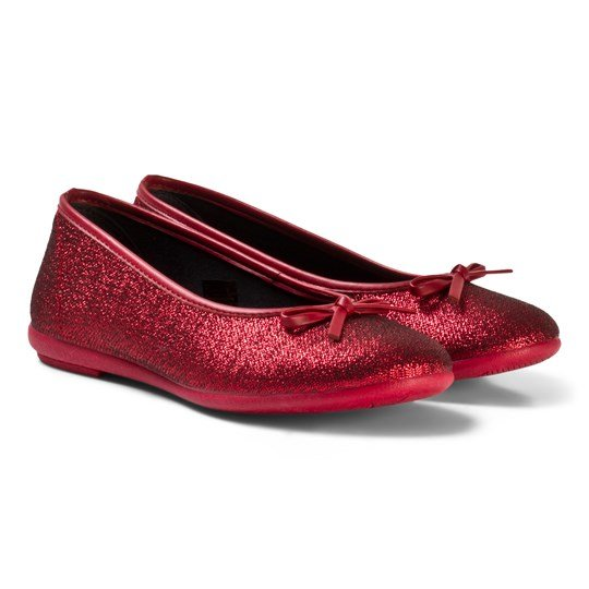 Kavat Ballerina Shoes Tindra Bordeaux Red