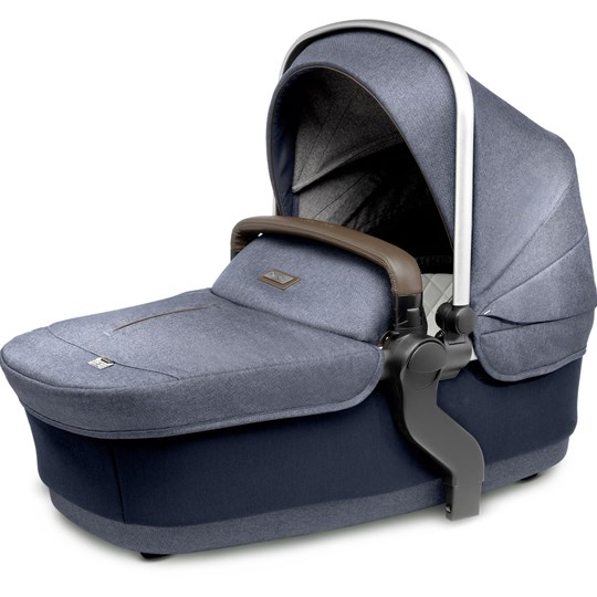 Silver Cross Wave Carry Cot Midnight Blue Midnight Blue