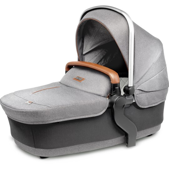 Silver Cross Wave Carry Cot Sable Grey Sable