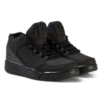 Air Jordan Flight Origin 2 Kids Trainers Black and Grey BLACK/BLACK-DARK GREY
