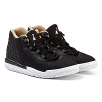 Air Jordan Black Jordan Academy Kids Trainers BLACK/WHITE-COOL GREY-VACHETTA TAN