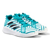 adidas Performance Blue Rapida Turf Messi Sneakers ENERGY AQUA F17