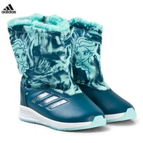 adidas Performance Disney Frozen RapidaSnow Boots PETROL NIGHT F17/ENERGY AQUA F17/FTWR WHITE