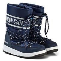 Moon Boot Mb We Sport Jr Wp Navy Blue-White NAVY BLUE-WHITE