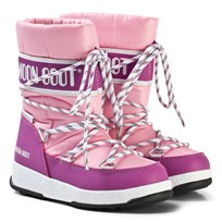 Moon Boot Mb We Sport Jr Wp Pink-Orchid PINK-ORCHID