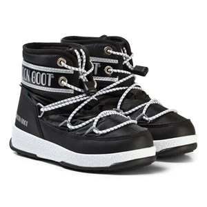 Image of Moon Boot Mb We Jr Mid Wp Black-Silver 31 EU (3125334521)
