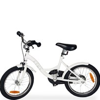 "STOY 16"" Speed Bicycle White"